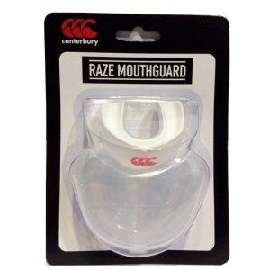 Raze Mouthguard Sr Clear White