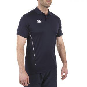 TEAM Dry Polo Junior - Navy White