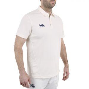 Canterbury Cricket Shirt Senior - Cream