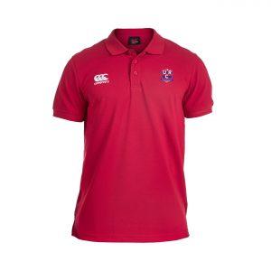 URC Waimak Senior Polo Shirt Red
