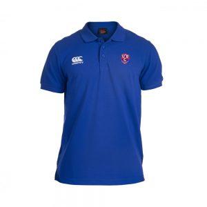 URC Waimak Senior Polo Shirt Royal
