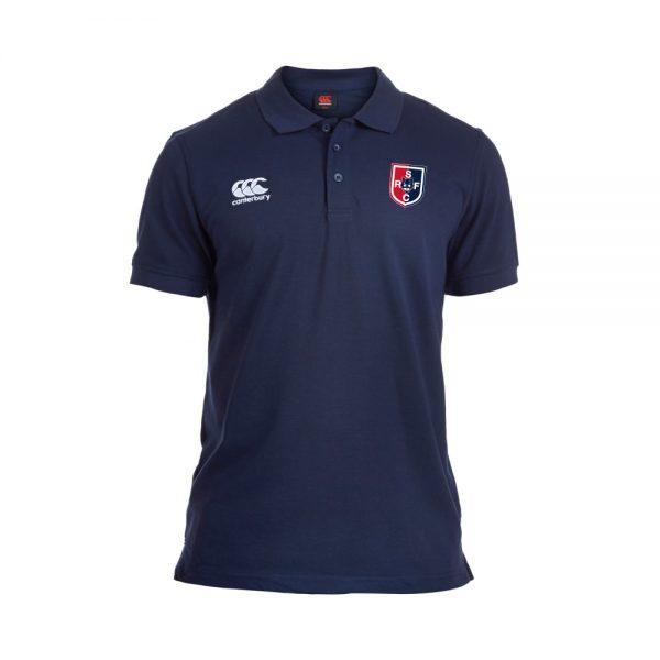 SRFC Waimak Jr Polo Shirt Navy