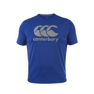 T-shirt Core VapoDri Poly Logo Sr Royal