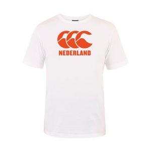 Nederland CCC Logo Tee Sr White