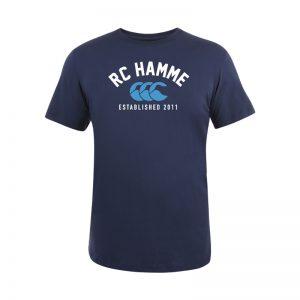Hamme CCC Tee Senior Navy