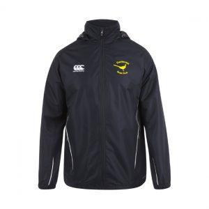 CASRC Full Zip Rainjacket Senior - Black
