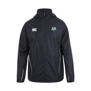 Gent RFC Full Zip Rainjacket Black