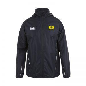 RCG Senior Full Zip Rainjacket Black