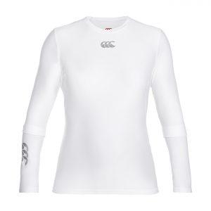 Top à manches longues Thermoreg Femme Blanc