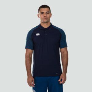Pro II Performance Cotton Polo Navy