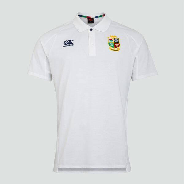 British & Irish Lions Pique Polo Senior White