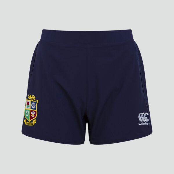 British & Irish Lions Woven Gym Short Femme Bleu