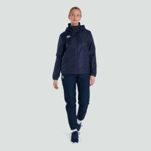 Club Vaposhield Full Zip Rain Jacket Women Navy
