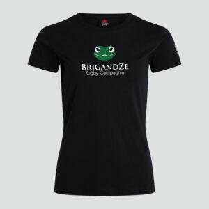 BrigandZe Club Tee Women Black