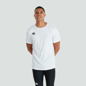 T-shirt Club Dry Senior Blanc