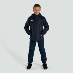 Club Full Zip Rain Jacket Junior Navy