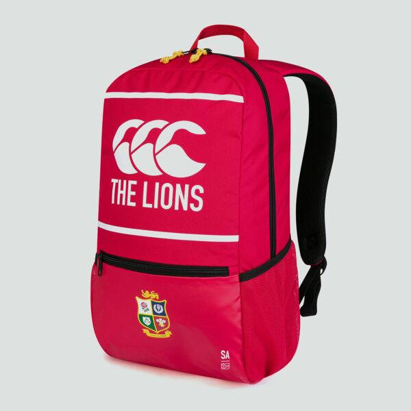 British & Irish Lions Medium Backpack Red