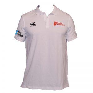 Rugby Nederland Waimak Sr Polo Shirt White