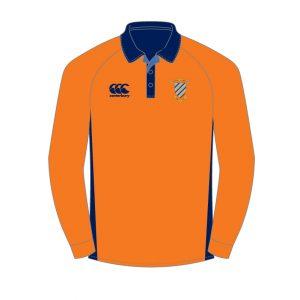 CCB Cricket LS Shirt Sr Orange PRE ORDER